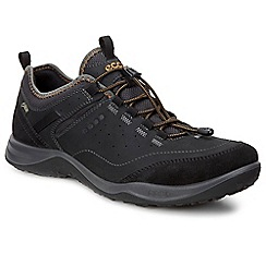 Ecco - Black 'Espinho' Mens Casual Sports Shoes