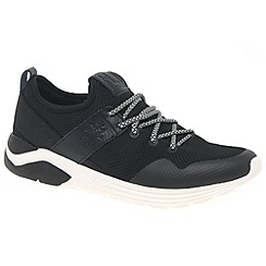 Fly London - Black 'Suba' mens lightweight sports trainers