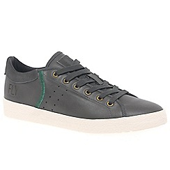 Fly London - Grey leather 'Bose' casual trainers