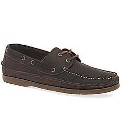 Anatomic & Co - Dark Brown 'Viana' mens casual boat shoes