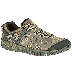 Merrell - Khaki 'All Out Blaze Aero' trainers