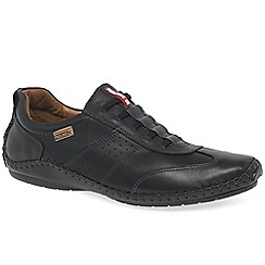 Pikolinos - Black leather 'Freeway II' casual shoes