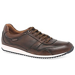 Pikolinos - Tan leather 'Wirral' casual trainers