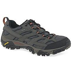 Merrell - Grey 'moab 2 gtx' waterproof sports shoes