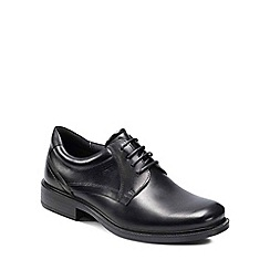 Ecco - Black dublin mens formal lace up shoes