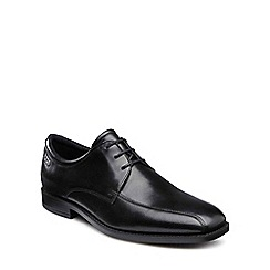 Ecco - Black 'Edinburgh' mens leather lace up shoes