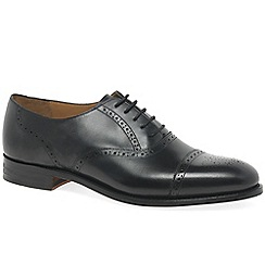 Barker - Black 'Gatwick' mens formal shoes