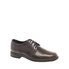 Josef Seibel - Dark brown Kevin Mens Formal Lace Up Shoes