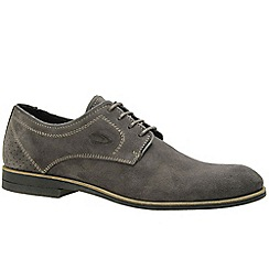 Camel Active - Grey 'North' mens formal lace shoes