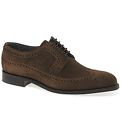 Barker - Dark brown 'Woodbridge' Mens Formal Lace Shoes