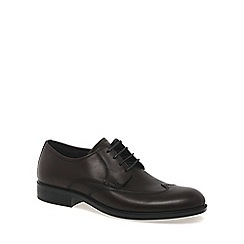 Ecco - Dark brown 'Harry' mens formal lace up shoes