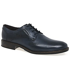 Bugatti - Dark blue 'Walton' mens formal lace up shoes