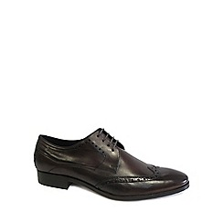 Bugatti - Dark brown 'Punch' Mens Formal Lace Up Shoes