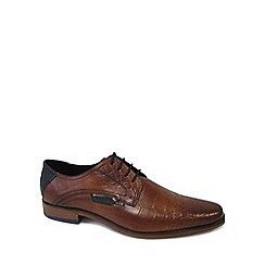 Bugatti - Brown 'Rome' Mens Formal Lace Up Shoes