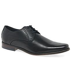 Bugatti - Black 'Vegas' mens formal lace up shoes