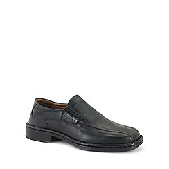 Josef Seibel - Black 'Bradford 07' Mens Slip On Shoes