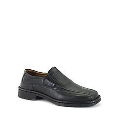 Josef Seibel - Black 'Bradford 07' Mens Slip On Shoes