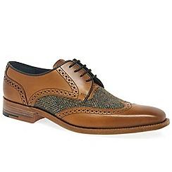 Barker - Tan 'Jackson' Mens Formal Lace Up Shoes