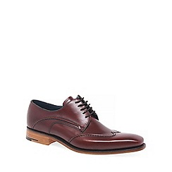 Barker - Maroon 'Brooke' Mens Formal Lace Up Shoes