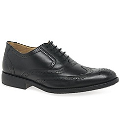 Anatomic & Co - Black leather 'Charles' brogues