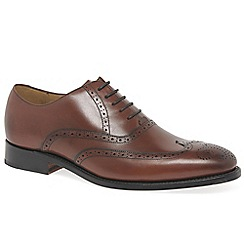 Barker - Brown leather 'Roger' brogues