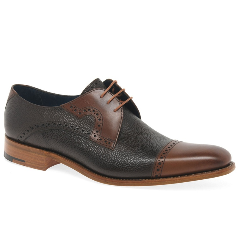Barker Dark brown 'Apollo' Men's Formal Lace Up Shoes