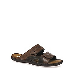 Josef Seibel - Brown 'Prep' Mens Casual Sandals