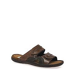 Josef Seibel - Brown 'Prep' Mens Casual Sandals