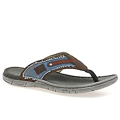 Josef Seibel - Multi coloured 'Paul 11' mens leather sandals