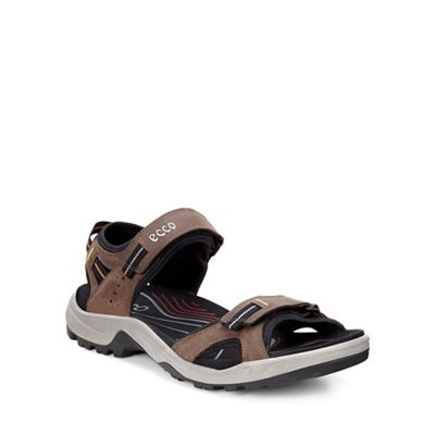 Ecco Brown Offroad Mens Casual Sandals