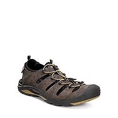 Ecco - Brown 'Biom Delta' Mens Casual Sandals
