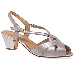 Van Dal - Beige 'Libby II' wide fit sandals