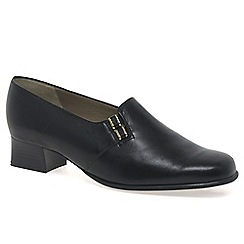Van Dal - Black 'elsa' wide fit shoes