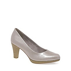 Marco Tozzi - Beige 'Alpha' Womens Court Shoes