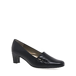 Van Dal - Black 'ester' wide fit dress shoe