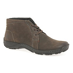 Josef Seibel - Brown 'Nolan 14' Mens Casual Boots