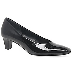Gabor - Black Patent 'Competition' Dress Courts