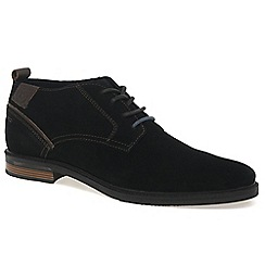 Bugatti - Black 'Ludlow' mens lightweight casual boots