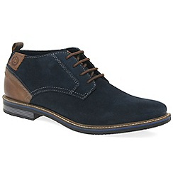 Bugatti - Navy 'Ludlow' mens lightweight casual boots