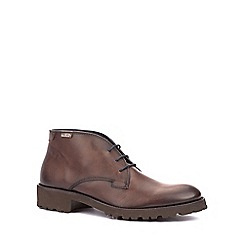 Pikolinos - Brown 'Baltimore' mens casual boots