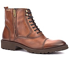 Pikolinos - Tan 'Bandon' mens casual boots