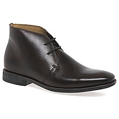 Anatomic & Co - Maroon 'Chukka' leather mens boots