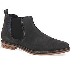 Bugatti - Brown 'Dawson' Mens Casual Chelsea Boots