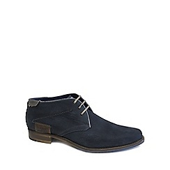 Bugatti - Navy 'State' Mens Casual Boots