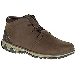Merrell - Brown 'All Out Blazer Chukka' mens boots