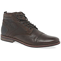 Bugatti - Brown 'Deal' mens lace up boots