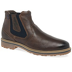 Bugatti - Brown 'Chancer' mens chelsea boots