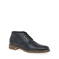Bugatti - Navy 'Rally' mens casual boots