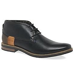 Bugatti - Black 'Board' mens casual boots