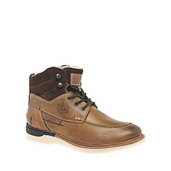Bugatti - Tan 'Canyon' mens lace up boots